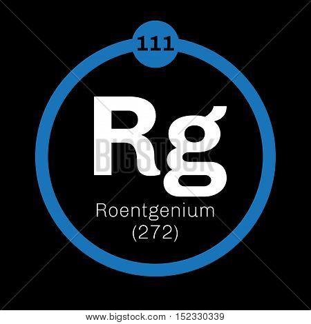 Roentgenium Chemical Element