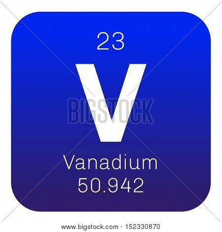 Vanadium Chemical Element