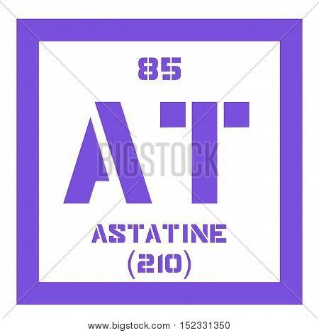 Astatine Chemical Element