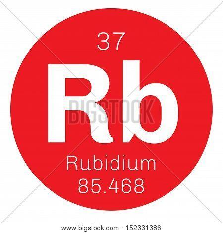 Rubidium Chemical Element
