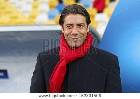 Uefa Champions League Dynamo Kiev V Benfica: Pre-match Training