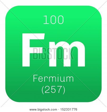 Fermium Chemical Element