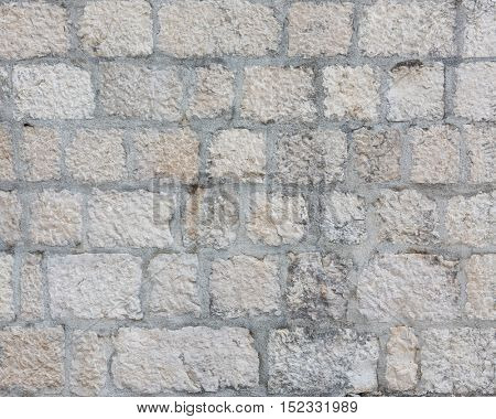 Medieval wall as background