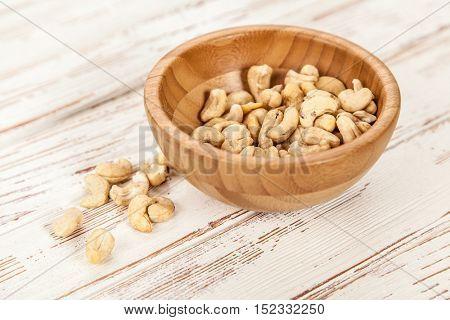 Cashew nuts closeup photo