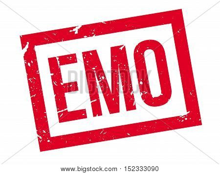 Emo Rubber Stamp