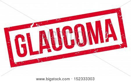 Glaucoma Rubber Stamp