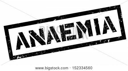 Anaemia Rubber Stamp