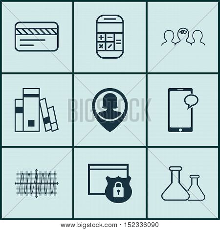 Set Of 9 Universal Editable Icons For Airport, Statistics And Travel Topics. Includes Icons Such As