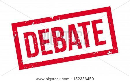 Debate Rubber Stamp