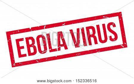 Ebola Virus Rubber Stamp