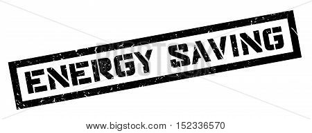 Energy Saving Rubber Stamp