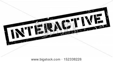 Interactive Rubber Stamp