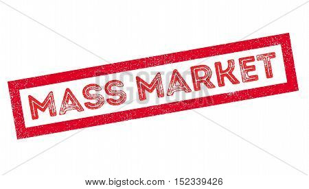 Mass Market Rubber Stamp