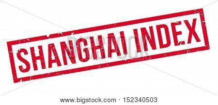 Shanghai Index Rubber Stamp