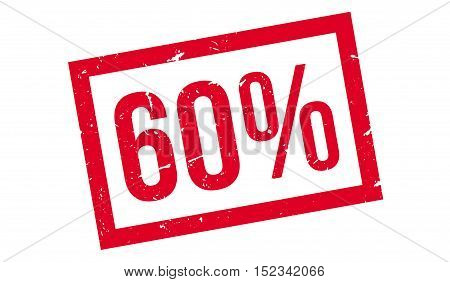 60 Percent Rubber Stamp
