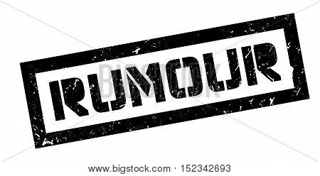 Rumour Rubber Stamp