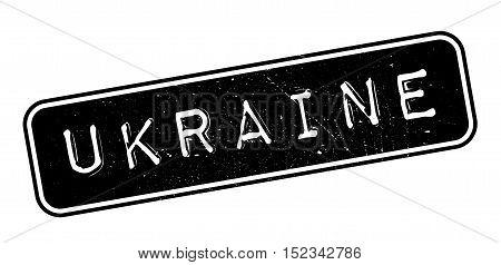 Ukraine Rubber Stamp