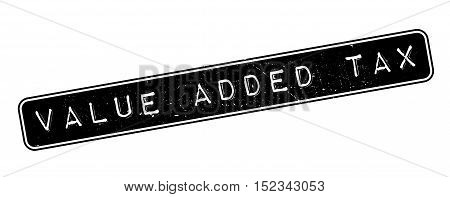 Value Added Tax Rubber Stamp