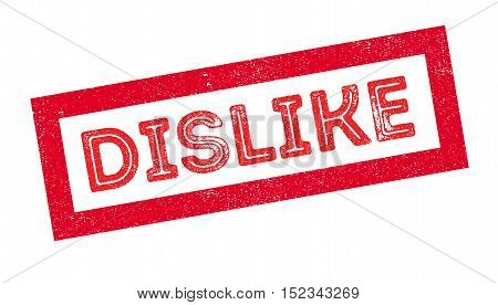 Dislike Rubber Stamp