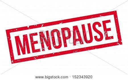Menopause Rubber Stamp