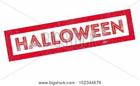 Halloween Rubber Stamp