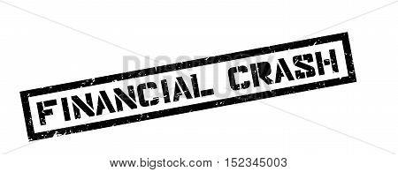 Financial Crash Rubber Stamp