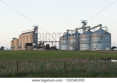 Grain Silos  Nsw