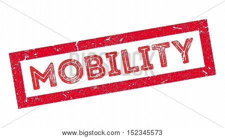 Mobility Rubber Stamp
