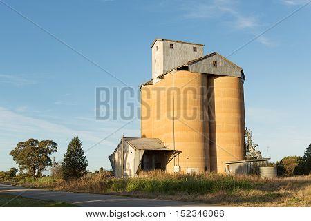 Grain Silos Newell Highway Nsw