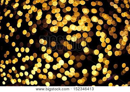 Bokeh Light As Background