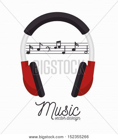 music festival instrument poster vector illustration design