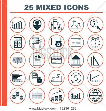 Set Of 25 Universal Editable Icons For Airport, Human Resources And Seo Topics. Includes Icons Such