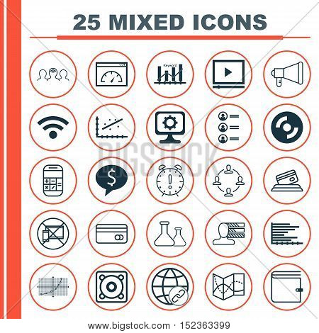 Set Of 25 Universal Editable Icons For Human Resources, Airport And Education Topics. Includes Icons