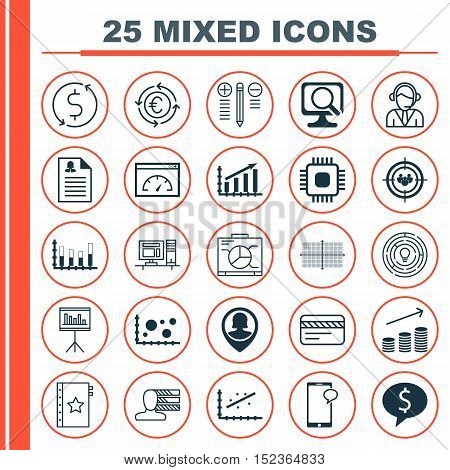 Set Of 25 Universal Editable Icons For Marketing, Airport And Human Resources Topics. Includes Icons