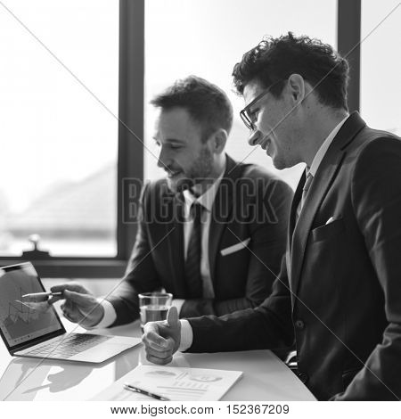 Business Corporate Colleagues Co-workers Job Concept