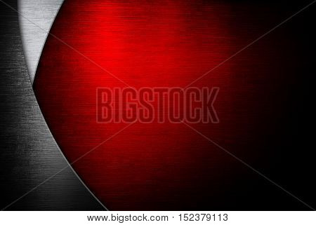 red metal template design background