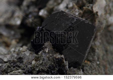 Schorl Mineral Texture