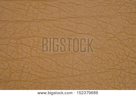 Beige leather texture.  Abstract background, empty template.