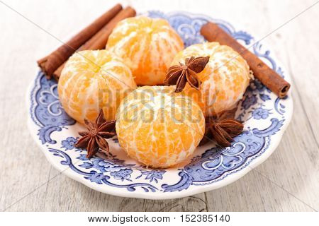 clementine and spices