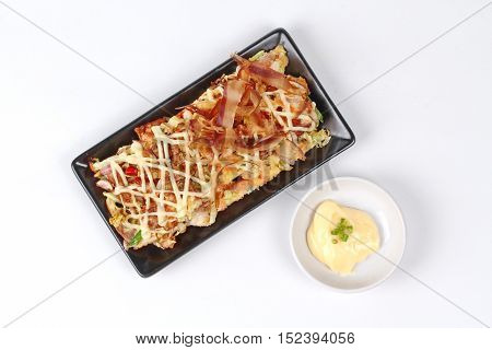 Japan pizza as