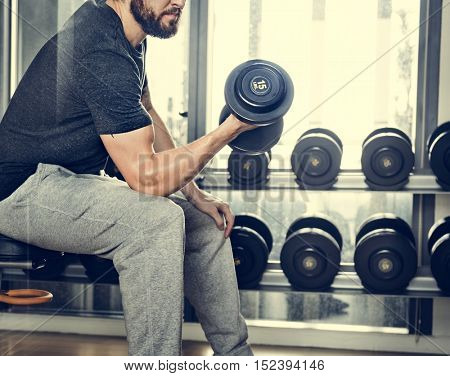 Dumbbell Gym Weight Fitness Dumbbell Active Concept