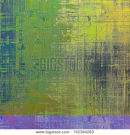 Old abstract texture used as shabby grungy background. With different color patterns: yellow (beige); brown; gray; green; blue