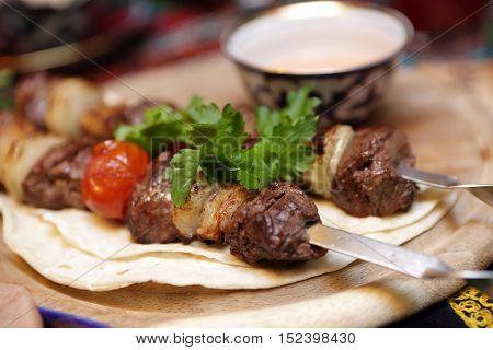 Kebab On Skewers