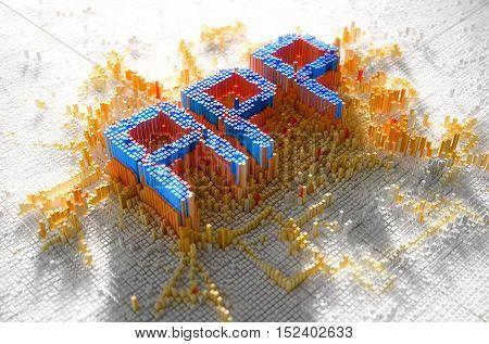 Pixel App Concept