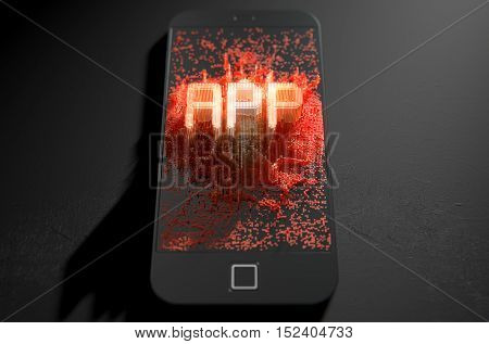 Smart Phone Emanating App