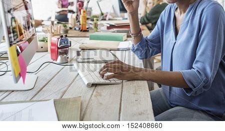 Office Worker Employee Working Concept
