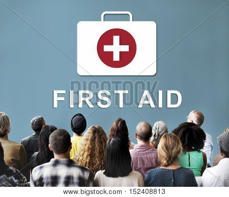 First Aid Healthcare Medical Concept