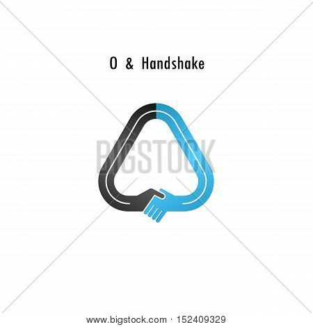 O- letter icon abstract logo design vector template.Business offerpartnership icon.Corporate business and industrial logotype symbol.Vector illustration