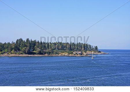 Gulf Islands in the Georgia Strait, British Columbia