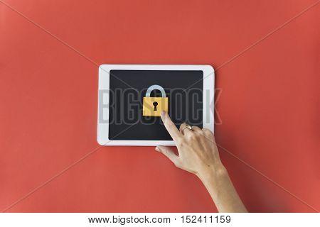 Tablet Digital Device Information Technology Concept